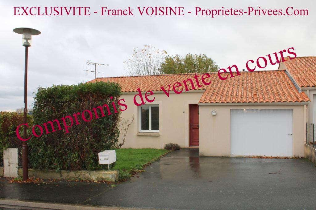 EXCLUSIVITE -Maison Plain-Pied Les Herbiers- 2 chambres -70 m2