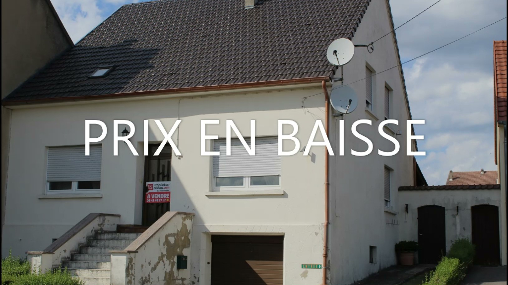 Maison Behren Les Forbach 7 pièce(s) 120 m2