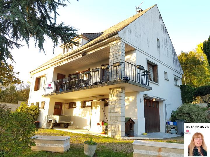 Gaillon proche - Maison avec vue sur sous-sol de  86 m2 au calme sur un terrain de 1.880 m2 - Prix : 194.370
