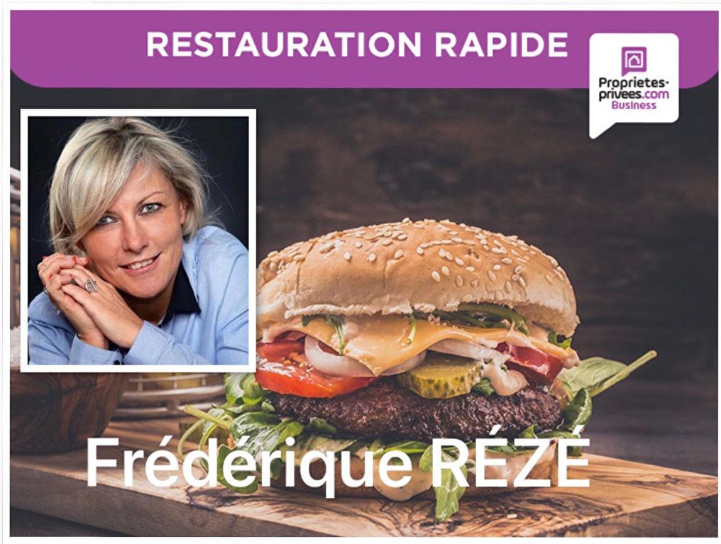 75017 PARIS : RESTAURATION RAPIDE sans extraction  avec 26 PLACES