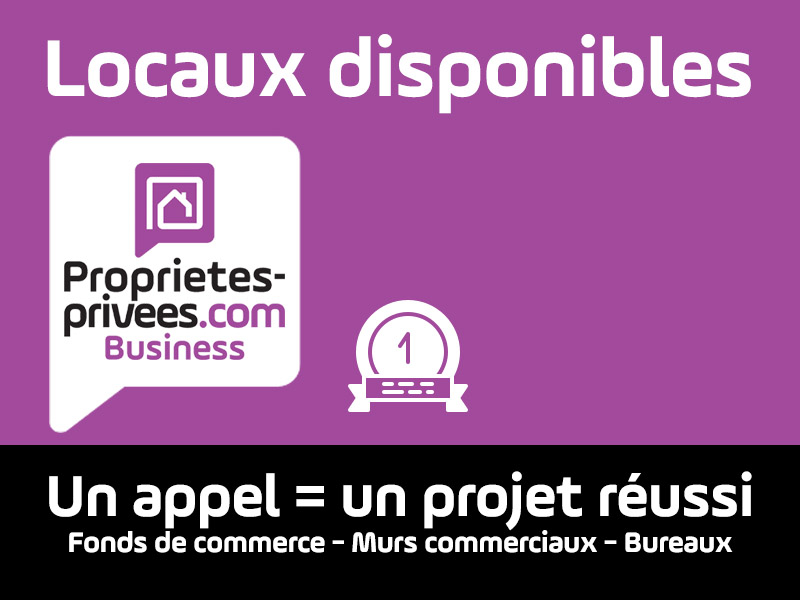 LIBOURNE 33500 - local commercial 500 M²