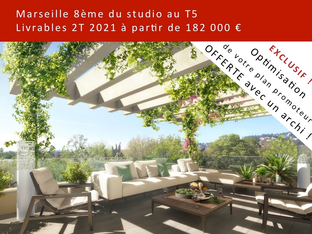 Appartement T3 neuf 13008