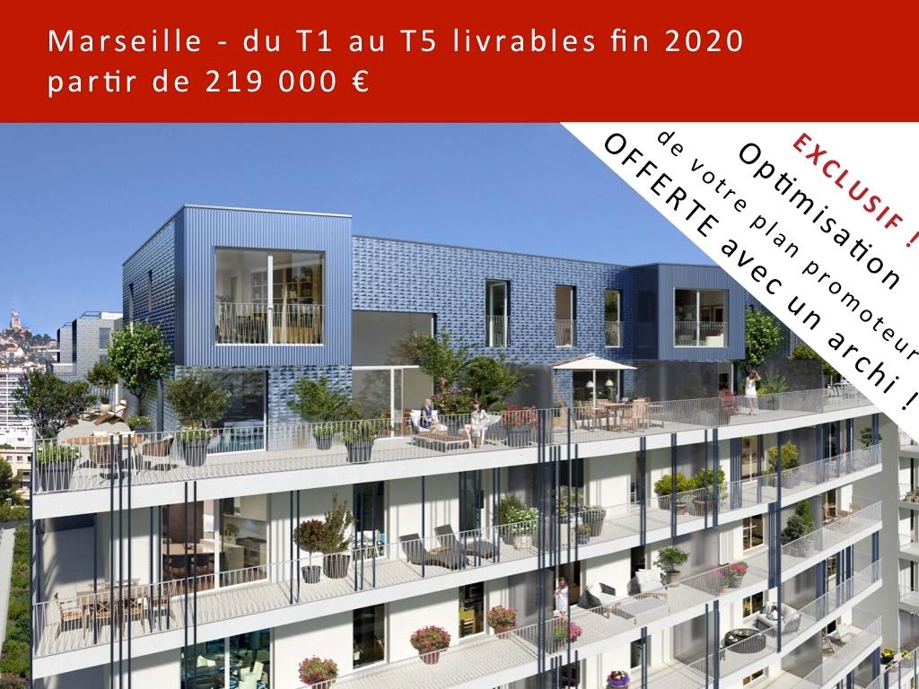 T4 neuf Marseille 8ème