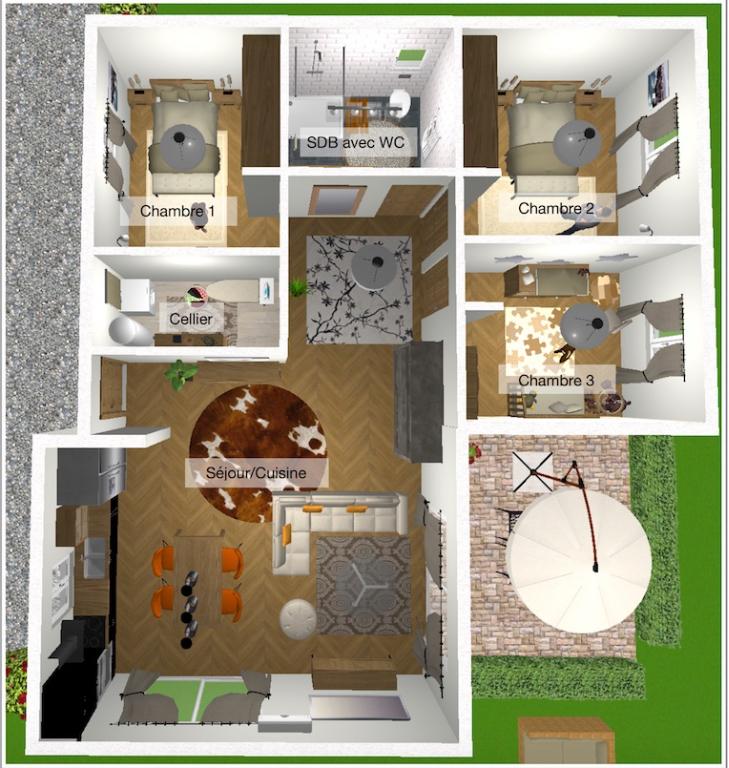 Villa Vescovato 4 pièce(s) 90 m2