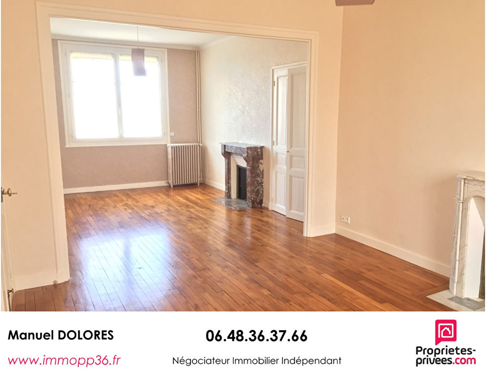 36000 CHATEAUROUX / Belle Isle - 4 chambres