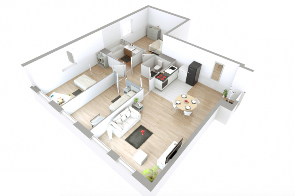 Appartement T4 - 75m2 - VILLIERS SUR MARNE (94350)