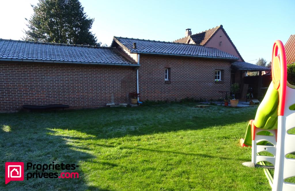 Fermette à Beugin avec beau jardin et garage - 3 chambres - 110 m2