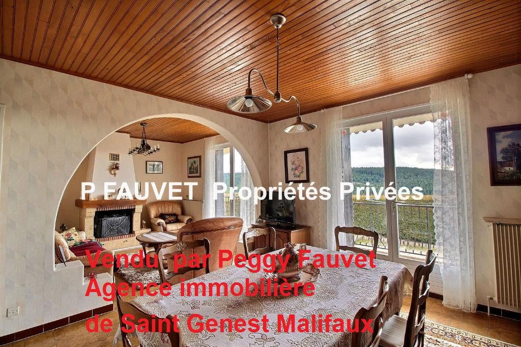 Vendu Maison Saint Genest Malifaux 7 pièces 136 m²