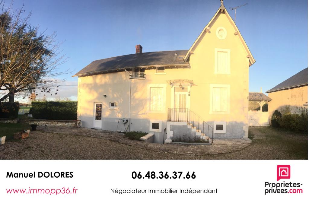 36250 NIHERNE - Maison bourgeoise