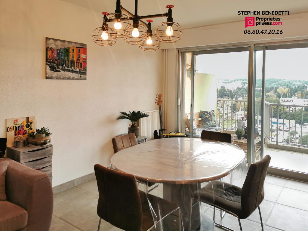 Appartement 2 pièces  54m²- Antibes - Résidence avec piscine