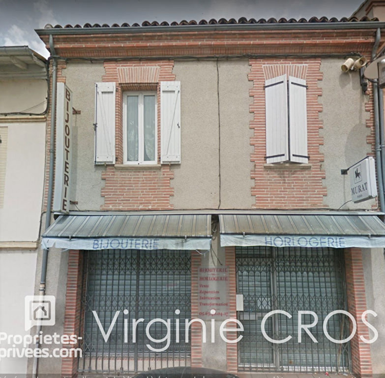 IMMEUBLE   LOCAL COMMERCIAL + APPARTEMENT 168 m2