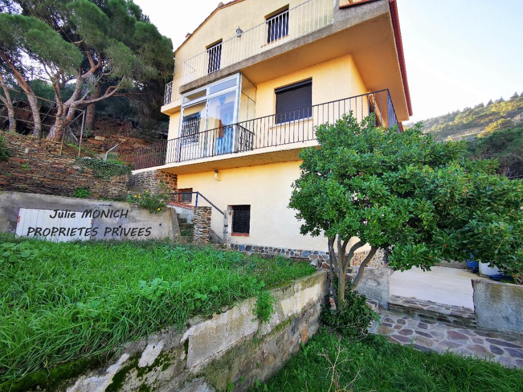 Maison vue mer, terrasse, jardin