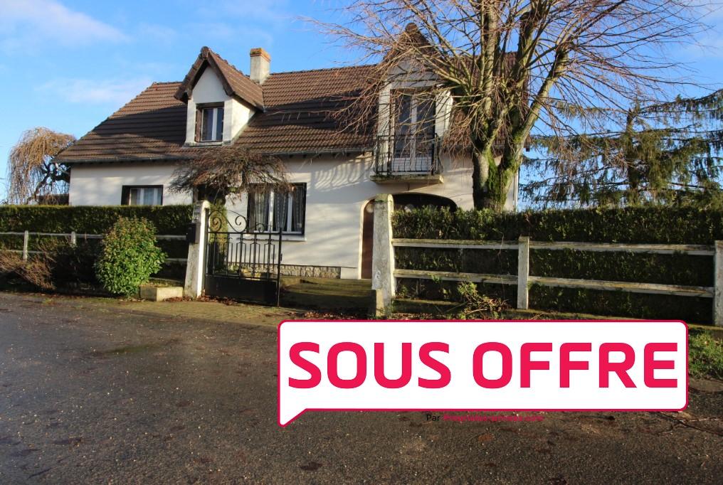 Maison Sougy 120 m2 à rénover sur 618m2 de terrain