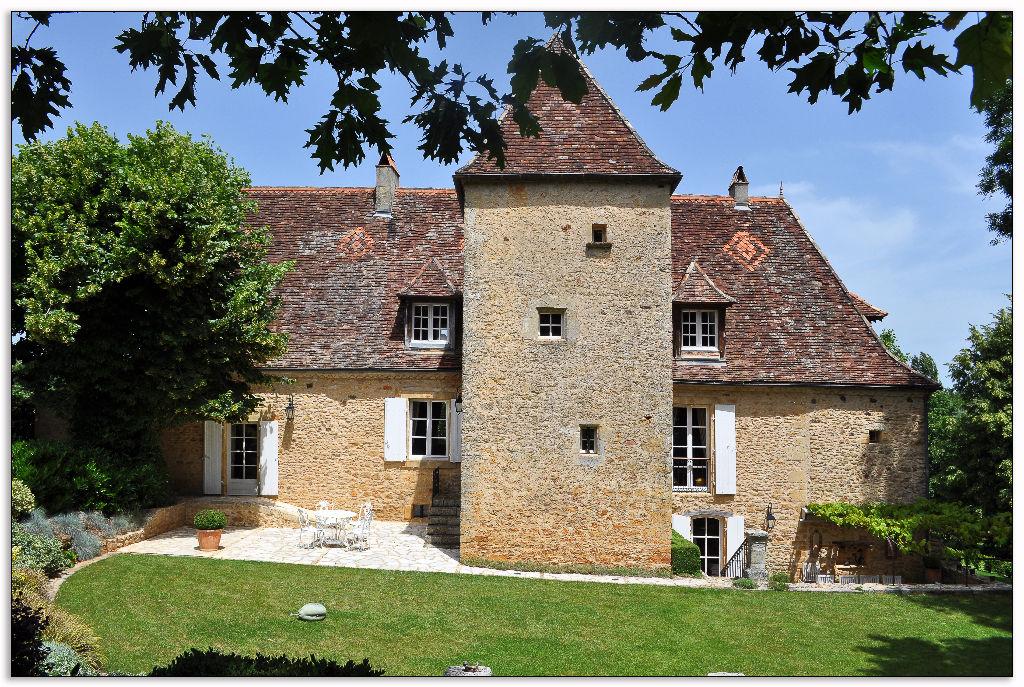 Manoir Saint Avit De Vialard 11 pièce(s) 355 m2