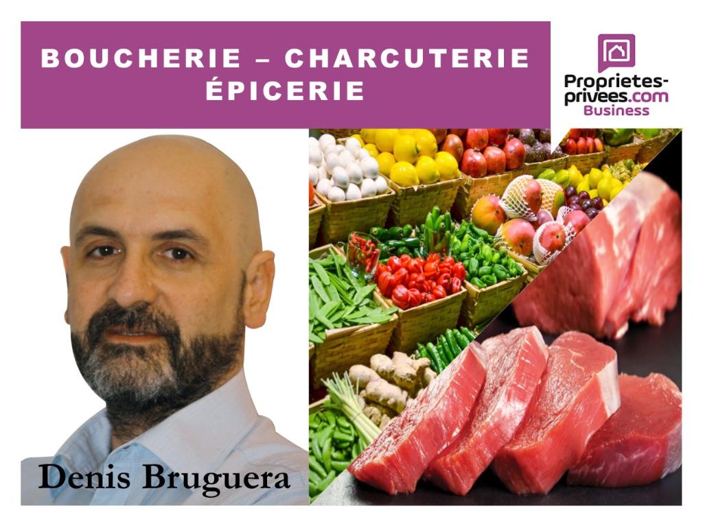Murs et Fonds de commerce Boucherie-Charcuterie-Alimentation Générale