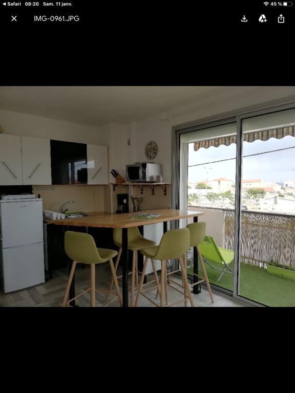 Appartement avec garage Narbonne - Plage