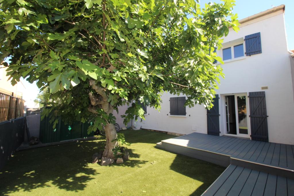 Villa 132 m²- 5 chambres-proche étang-34340 Marseillan - 271 900 euros