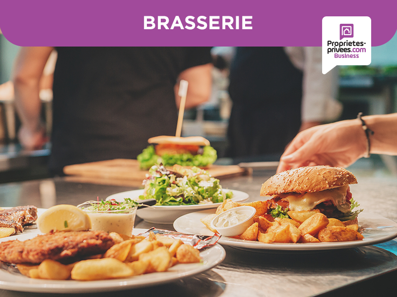93150  LE BLANC MESNIL - Bar Licence IV - Restaurant - 80  COUVERTS -  Terrasse - Extraction