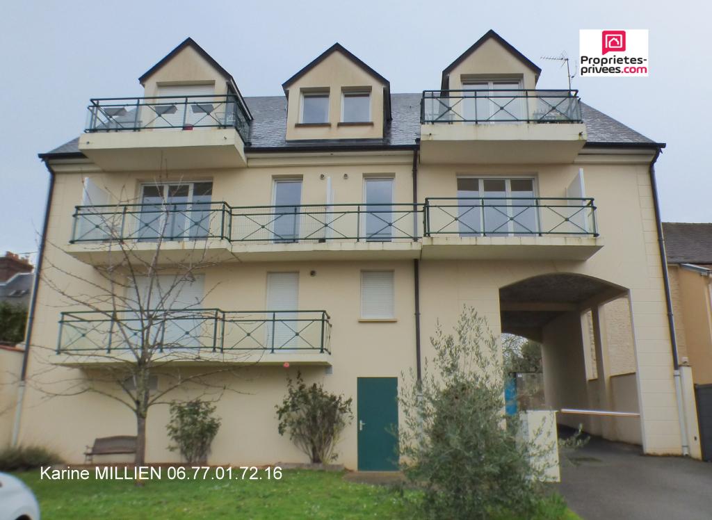 PACY SUR EURE 27120 Appartement T3 - 1er étage - Balcon - Cave - Place de parking extérieur - 197 580  HAI