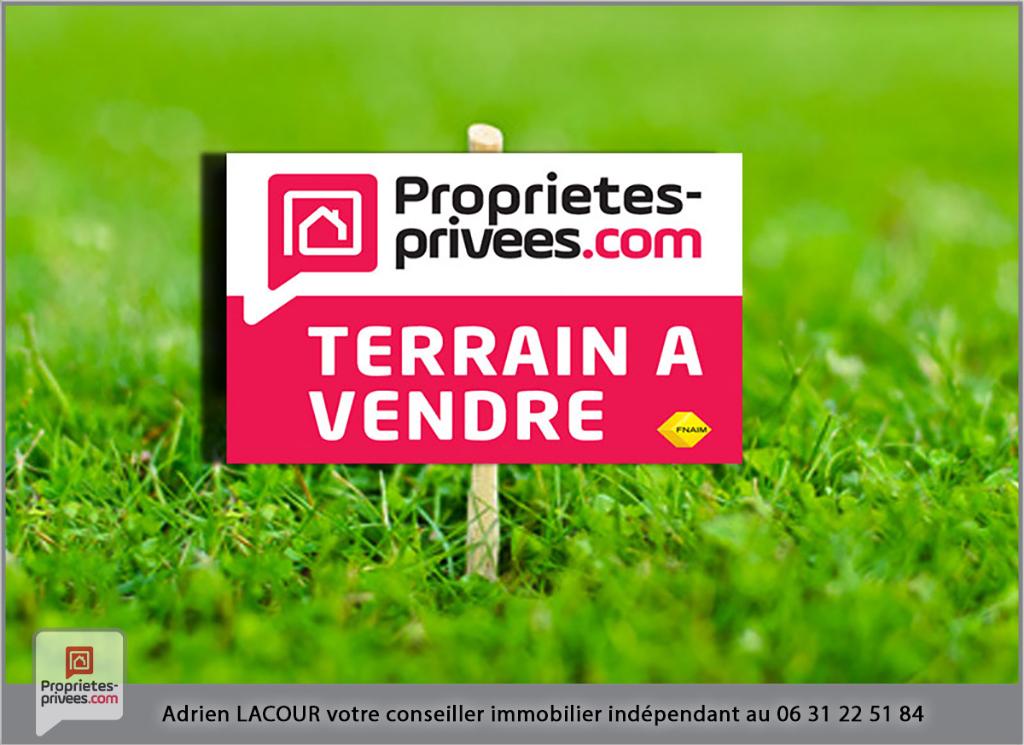 Terrain Pruniers En Sologne 1153 m2
