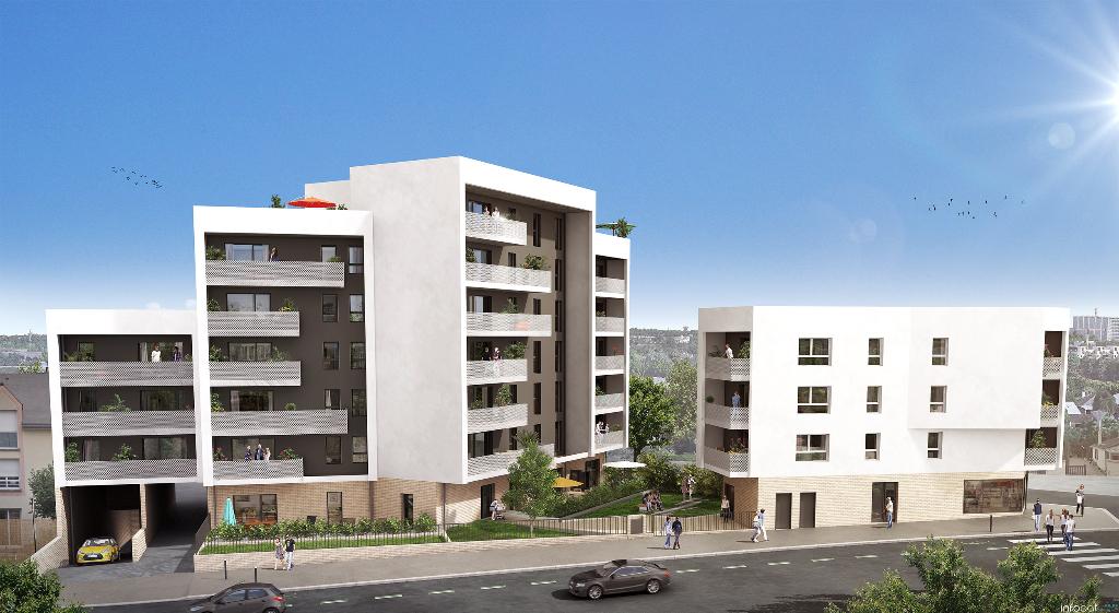 35000 RENNES - Appartement  3 pièce(s) 63.15 m2