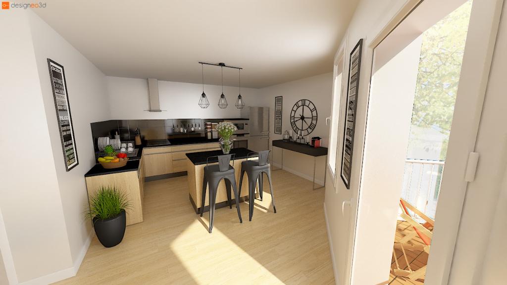 35000 RENNES - Appartement Rennes 4 pièce(s) 97,64m2