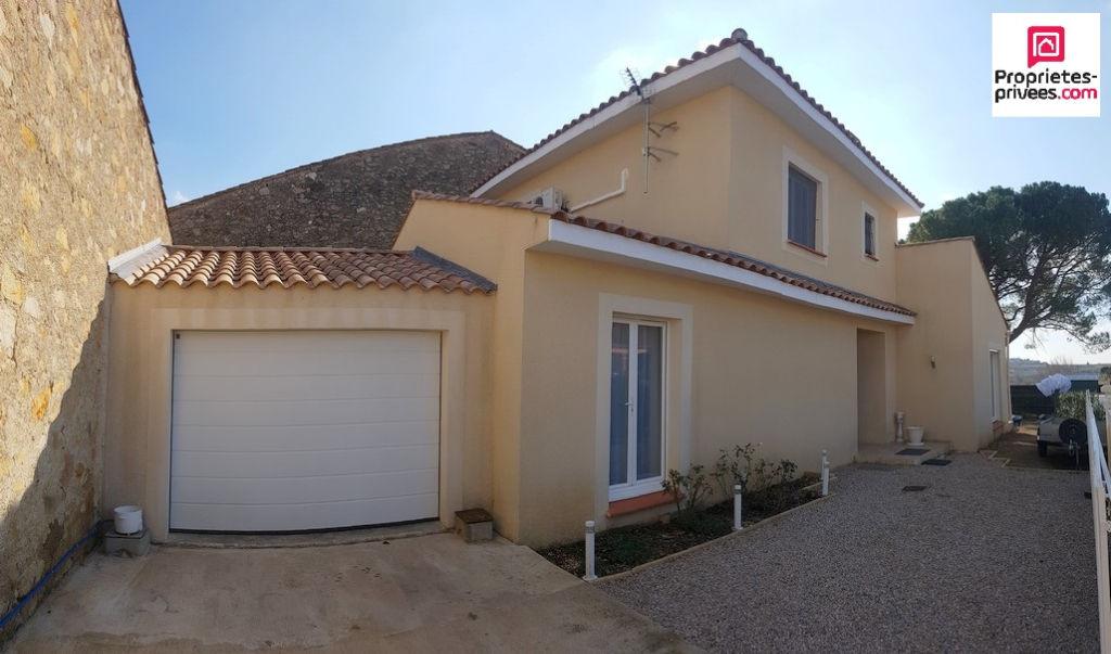 Jolie villa d'architecte avec garage