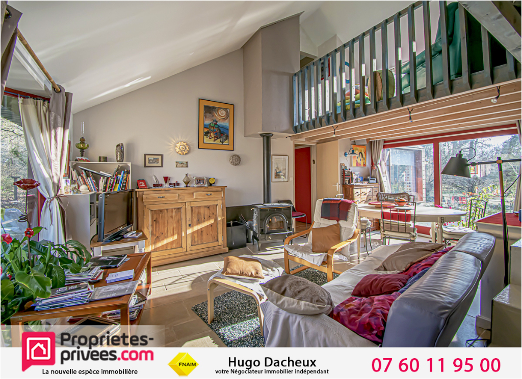 Maison d'architecte Vignoux Sur Barangeon 7 pièce(s) 130 m2