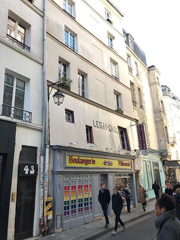 PARIS 4EME LE MARAIS STUDIO A RENOVER CHARME DE L'ANCIEN