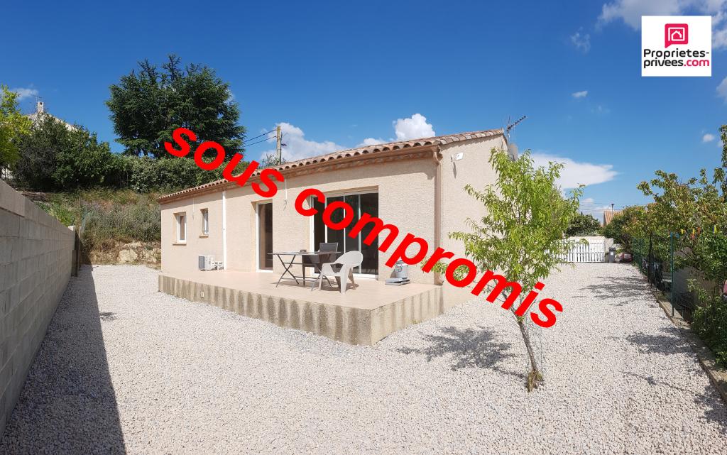 Villa PLEIN PIED DE 95M² SUR 485M² DE TERRAIN