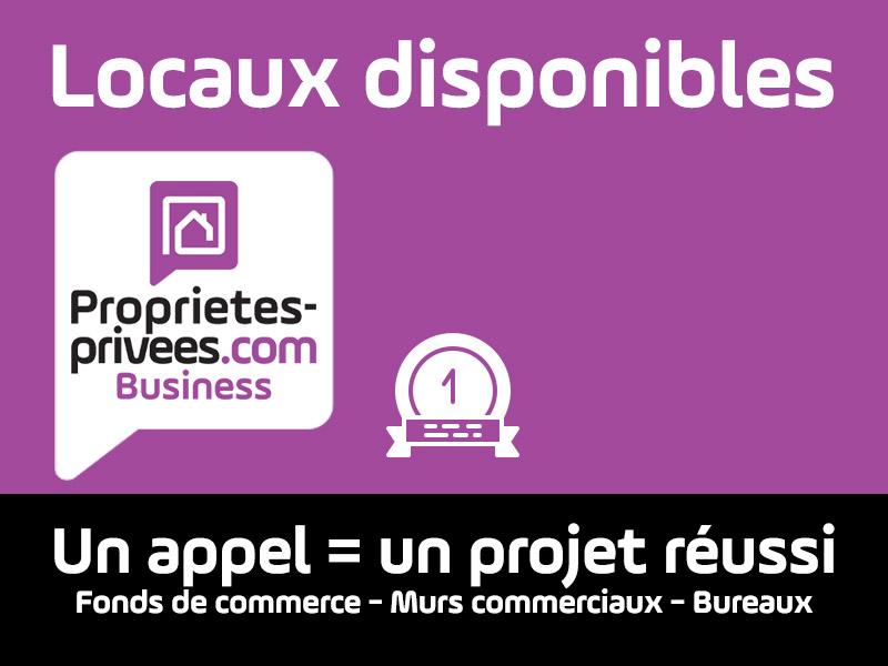 SECTEUR AMIENS - Local commercial , emplacement n°1 - 45 m² avec grande surface vitrée