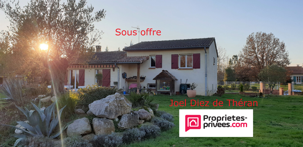 Maison 130 m2 sur terrain 2900 m²
