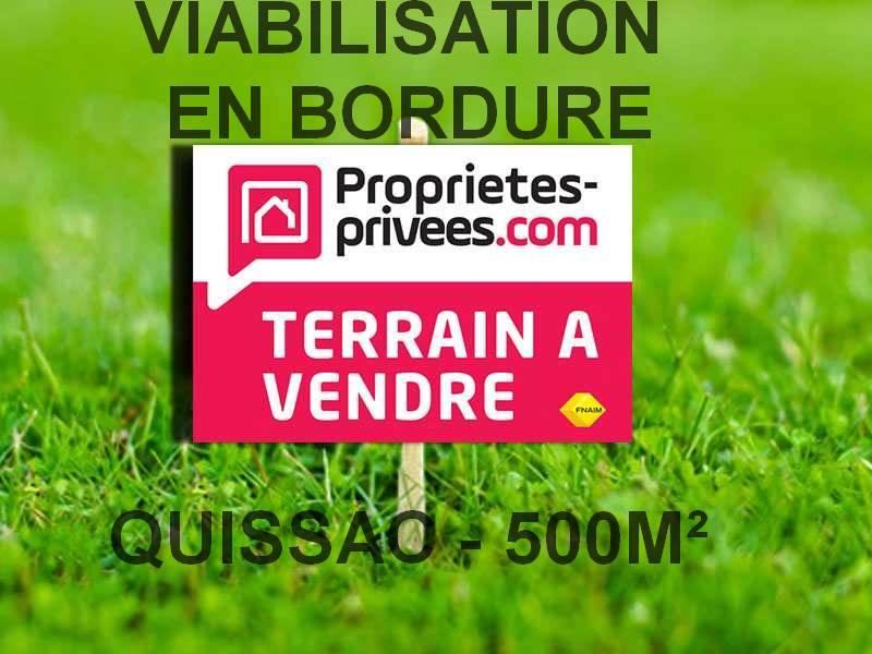 Terrain CONSTRUCTIBLE, Quissac, 500 m2