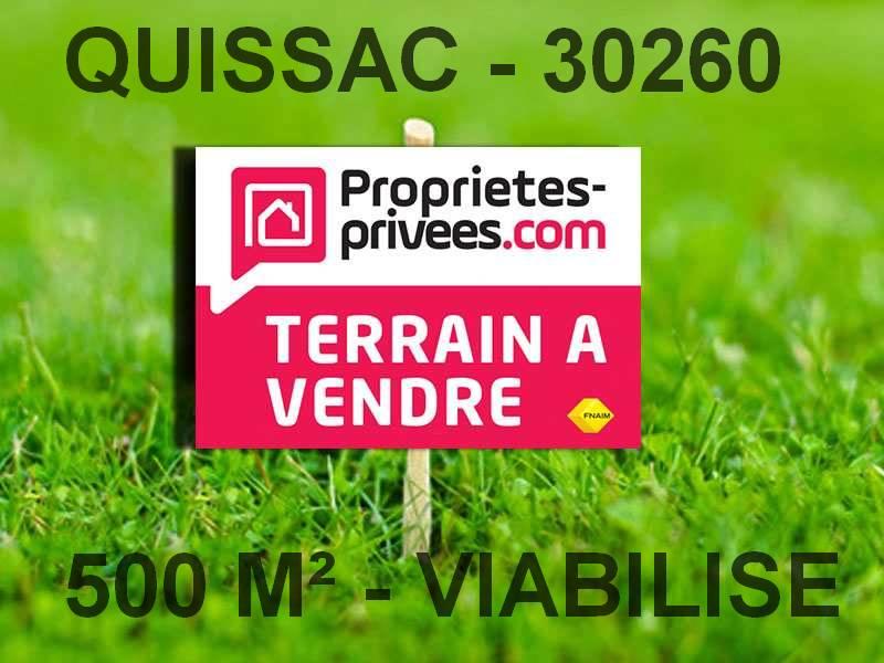 Terrain viabilisé, Quissac, 500 m2