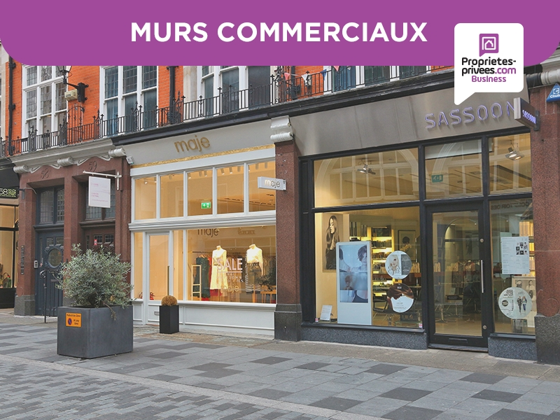 75004 PARIS SAINT PAUL LE MARAIS MURS COMMERCIAUX LIBRES