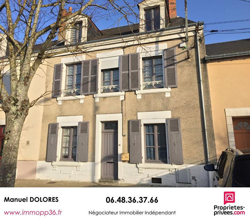 36000 CHÂTEAUROUX - Maison de ville 5 chambres