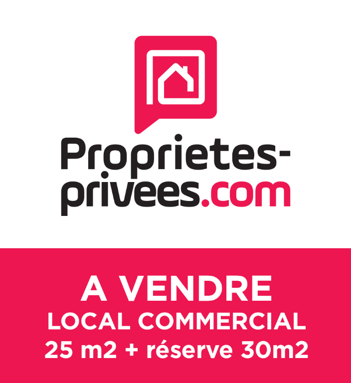 Bureaux 25m2 + reserve 30 m2