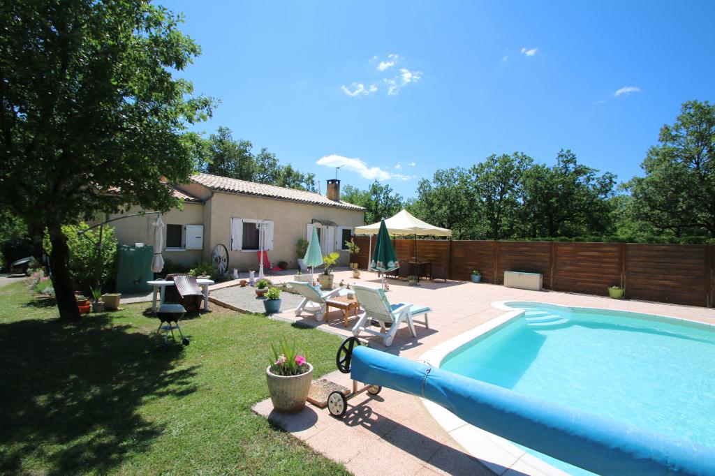 CAHORS Maison 3 chambres + Appt indépendant sur 2475 m2 avec piscine