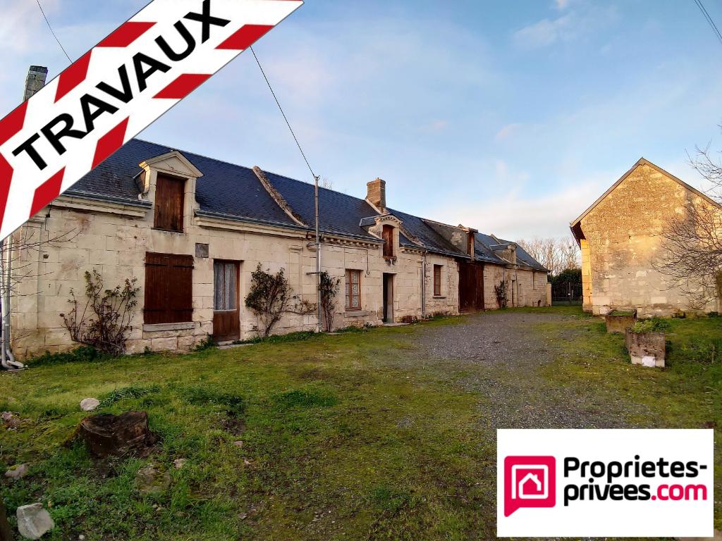 37420 Savigny-en -Véron, Longère de 240 M² sur 700 m² de terrain