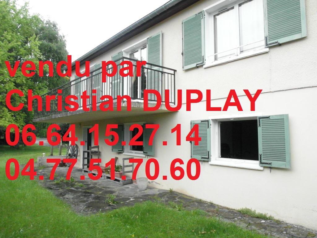 maison sur sous-sol complet  102m² 3 chambres  900m² de terrain