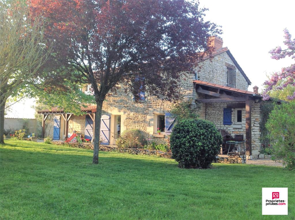 Maison ancienne Sud Chinon 4 pièce(s) 126 m² et Jardin