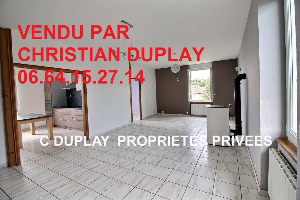 appartement duplex 94.88m² 3 chambres garage 2 places parking