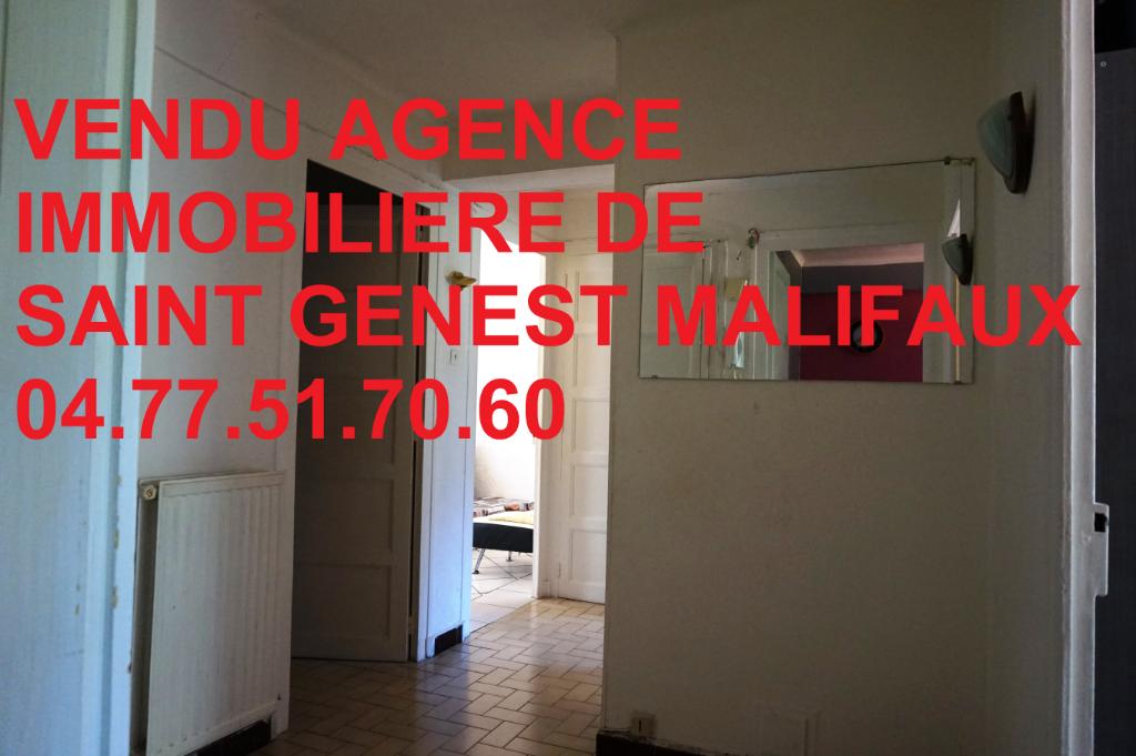 Appartement  5 pièces 66m² 3 chambres  locataire en place