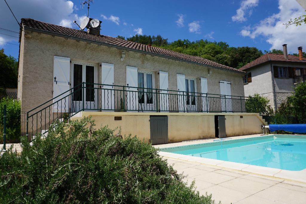 Maison à Cahors avec garage et piscine