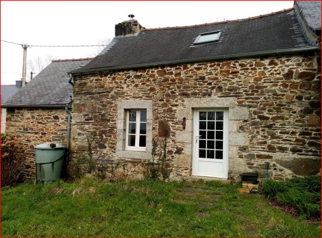 Plonevez du Faou 29530 Penty  1850 à finir de rénover 2 chambres  1100 m² de jardin