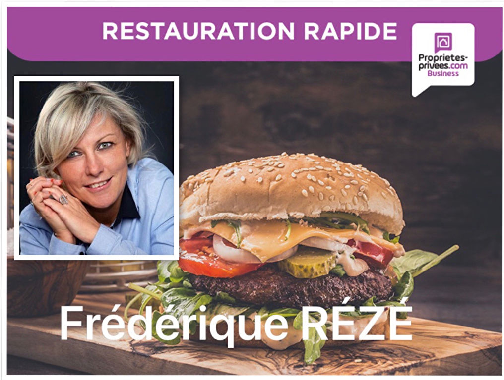 75016 PARIS : RESTAURATION RAPIDE SANS EXTRACTION 18 PLACES