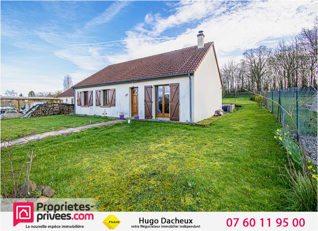 Maison Dampierre En Gracay 5 pièce(s) 90 m2