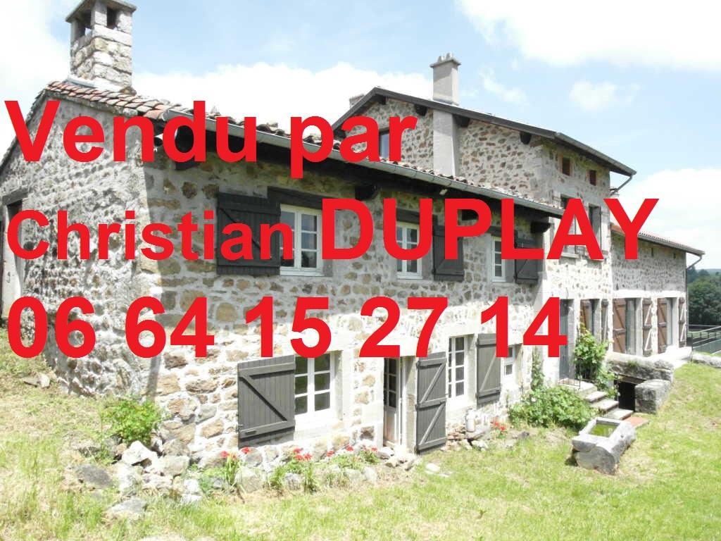 Maison Jonzieux 7 pièces 155 m² + seconde habitation 103m²  terrain 10300m²