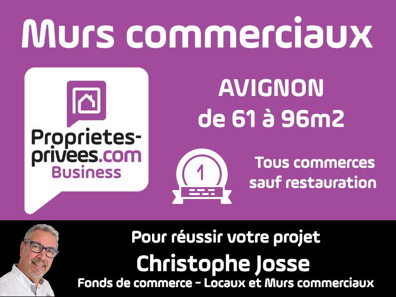 AVIGNON - MURS COMMERCIAUX LIBRES 52.8 m²