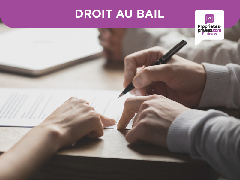 GRENOBLE EXCLUSIVITE  - DROIT AU BAIL LOCAL 75 M² HYPER CENTRE